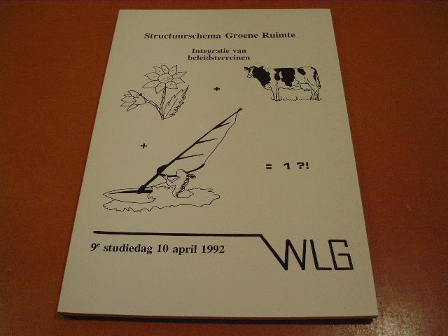 Koe, Jeroen de e.a. (redactie) - Structuurschema Groene Ruimte, Integratie van Beleidsterreinen, 9e studiedag 10 april 1992, rapporten werkgroep landelijk gebied nr. 4